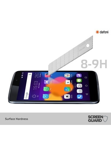 MobilCadde MobilCadde Dafoni Alcatel Onetouch İdol 3 5.5 Temperli Premium Cam Ekran Koruyucu Renkli